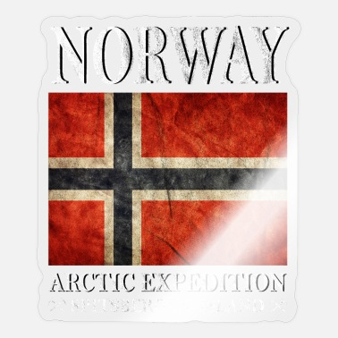 Norge Norge, Norge, Norge - Sticker