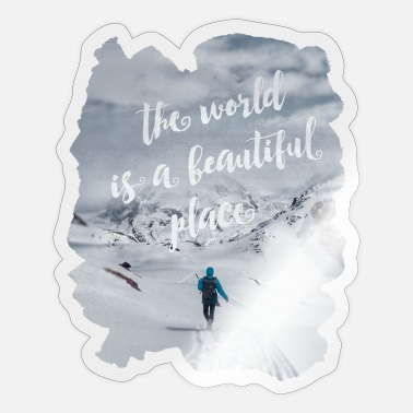 Beautiful Places Beautiful Place - Sticker