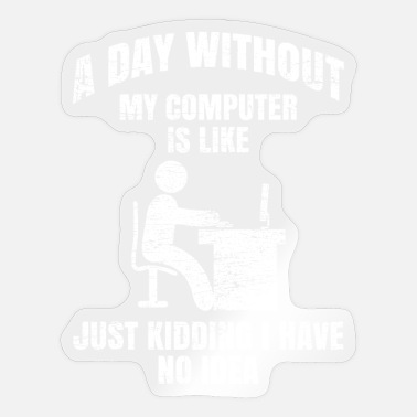 Programmemer Programmer day - Sticker