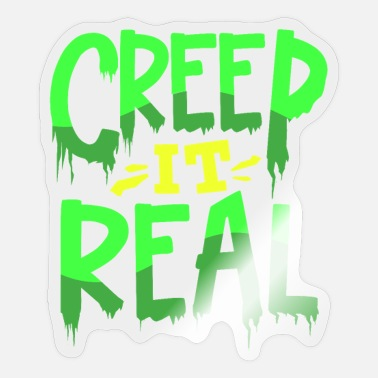 Creep Creep Halloween - Sticker