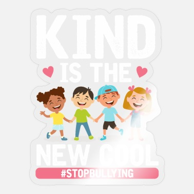 Child Protection Friendly is cool anti bullying child protection - Sticker