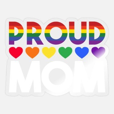 Lgbt Proud LGBT Proud mother - Sticker