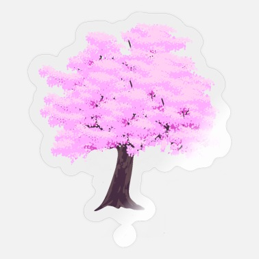 Fruit Tree Early spring fruit trees blossom nature trees - Sticker