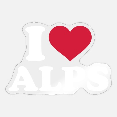 Alps Alps - Sticker