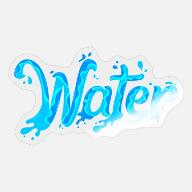 Water water - Sticker