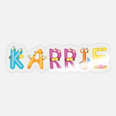 Karriere Karrie - Sticker