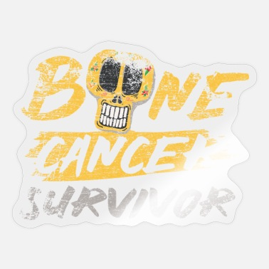 Cancer Survivor Bone Cancer Survivor Bone Cancer Survivor - Sticker