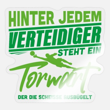 Torwart Torwart - Sticker