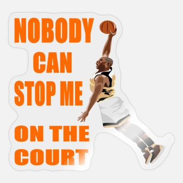 The Court king of the court - Sticker