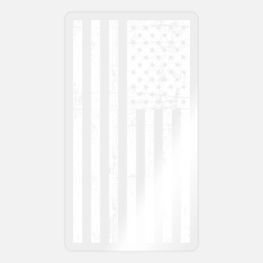 Nationalistisch Vintage amerikanische Flagge - Sticker