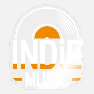 Indie Indie music - Sticker