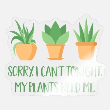 Plants plants - Sticker