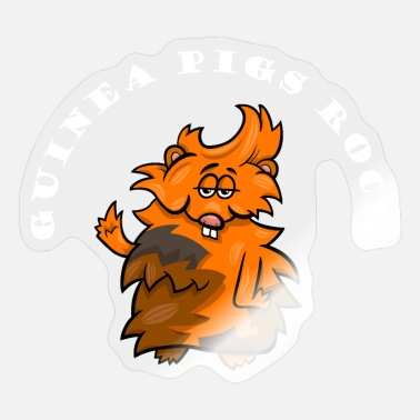 Rock Pig Rock guinea pigs - Sticker
