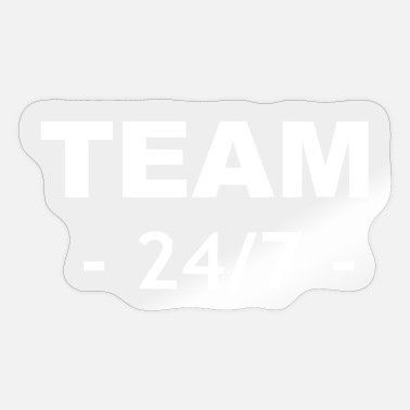 Vball Team 24 days 7 hours a week - Sticker