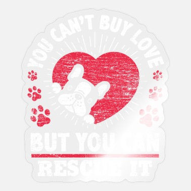 Animal Rescue Animal rescue dog - Sticker