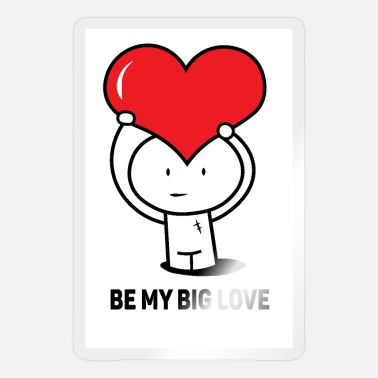Big Love Be my big love - Pegatina
