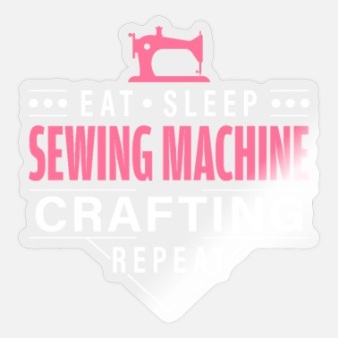 Sewing Machine Sewing machine sewing - Sticker