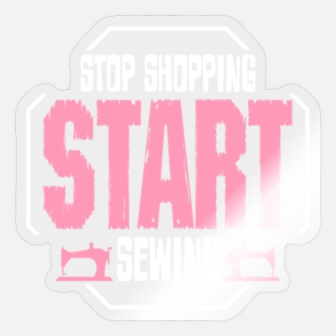 Sewing Machine Sewing sewing machine - Sticker