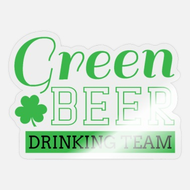 Green Beer Green beer - Sticker