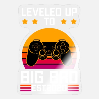 Up Leveled Up Big Big - Sticker