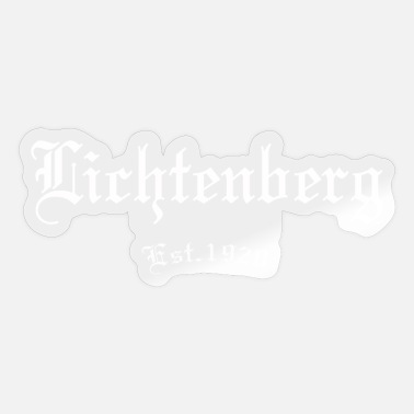 Since 1920 Lichtenberg 1920 East Berlin gift - Sticker