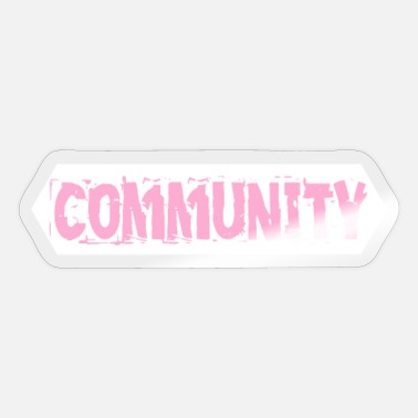 Community Community - Sticker