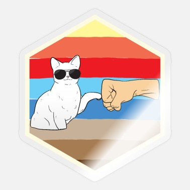 Cool Lover Cat lover Cat lover Cool cat - Sticker
