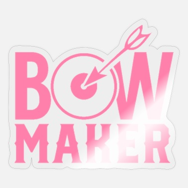 Bow Bows bow maker bow maker - Sticker