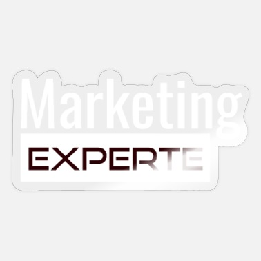 Marketing Manager Marketing expert manager geschenk - Sticker