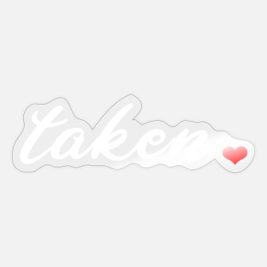 Take taken - Sticker