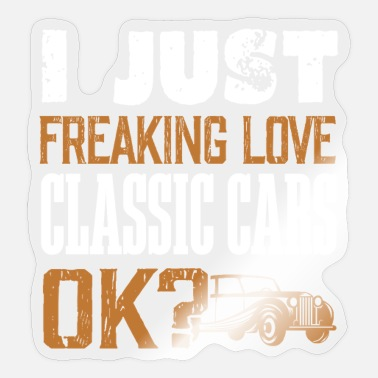 Vintage Car Vintage car - Sticker
