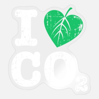 Co2 CO2 - Sticker