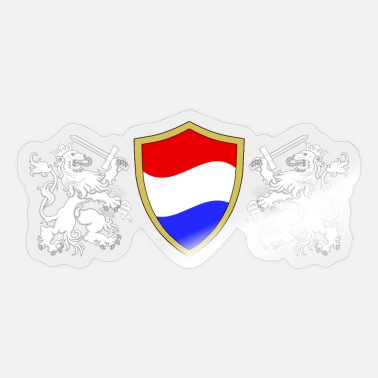 Shield Dutch shield - Sticker