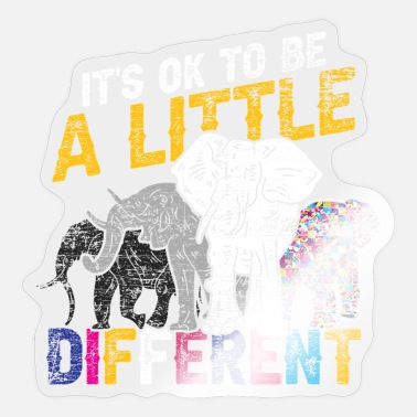 Mammal Elephant mammal - Sticker