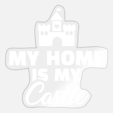 At Home At home - Sticker
