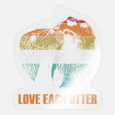 Love Each Other Love each other - Sticker