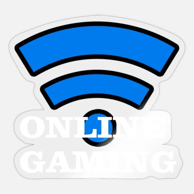 Online Online Gaming - Sticker