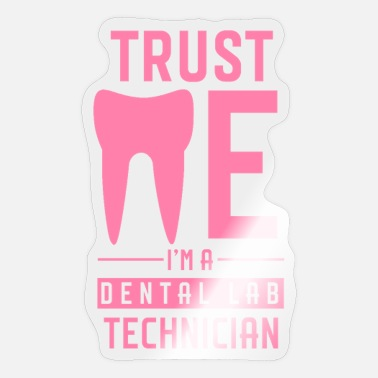 Dental Practice Practice dental technician teeth dental technician doctor - Sticker