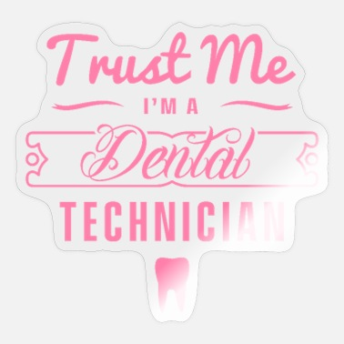 Dental Practice Teeth practice dental technician dental technician doctor - Sticker