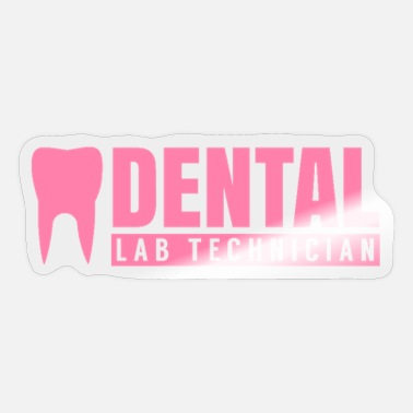 Dental Practice Practice dental technician teeth doctor dental technician - Sticker