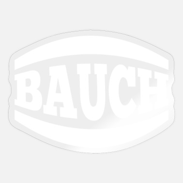 Bauch Bauch - Sticker