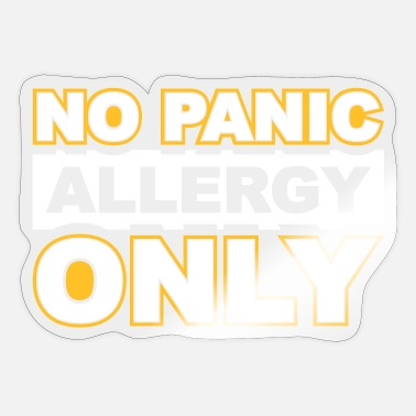 Allergy Allergy Allergy Corona - Sticker