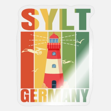 Westerland Sylt Westerland holiday gift - Sticker