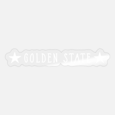 State Golden State - Sticker