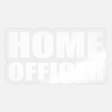 Home Officer Home office Home office - Sticker