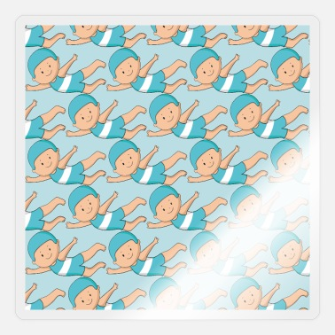 Child Protection Child face mask - Sticker