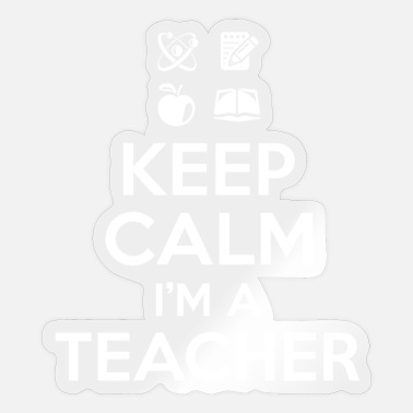 Keep Calm Lehrer - Sticker