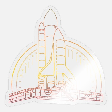 Rocket Engine Rocket launch - Sticker
