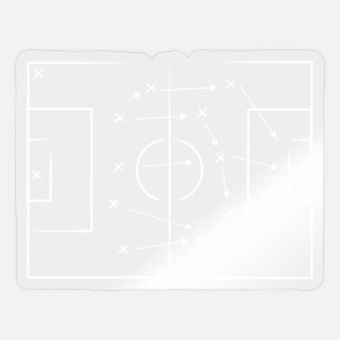 Football tactics - Sticker
