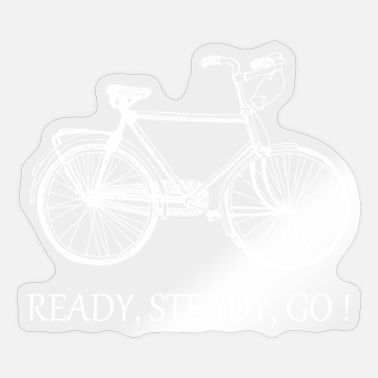 Ready Bicycle Ready Ready! - Sticker